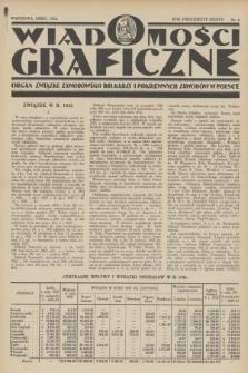 Wiadomości Graficzne : organ związku zawodowego drukarzy i pokrewnych zawodów w Polsce. R.26, nr 8 (lipiec 1933)