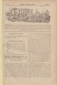 Tygodnik Rolniczy. R.1, nr 2 (5 stycznia 1884)
