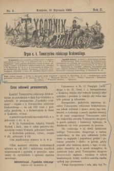 Tygodnik Rolniczy : Organ c. k. Towarzystwa rolniczego Krakowskiego. R.2, nr 2 (10 stycznia 1885)