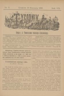 Tygodnik Rolniczy : Organ c. k. Towarzystwa rolniczego Krakowskiego. R.7, nr 3 (18 stycznia 1890)