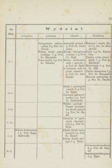 Spis Wykładów Odbywać się Mających w c. k. Uniwersytecie Jagiellońskim w Krakowie w Półroczu Zimowém roku szkolnego 1876/7