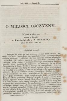 Przegląd Poznański : pismo sześciotygodniowe. T.37, Poszyt 2 (półrocze pierwsze 1864)