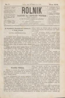 Rolnik : czasopismo dla gospodarzy wiejskich : organ urzędowy ces. król. Towarzystwa gospodarskiego galicyjskiego. T.19, Nr. 7 (15 października 1876)