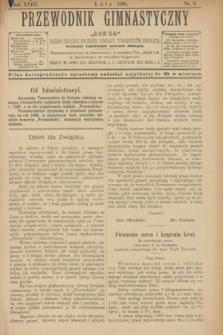 """Przewodnik Gimnastyczny """"Sokoł"""" : organ Związku Polskich Gimnast. Towarzystw Sokolich. R.18, nr 2 (luty 1898)"""