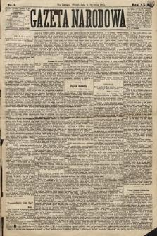 Gazeta Narodowa. 1883, nr5