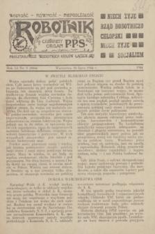 Robotnik : centralny organ P.P.S. Wolność - Równość - Niepodległość. R.51, nr 5 (16 lipca 1944) = nr 8064