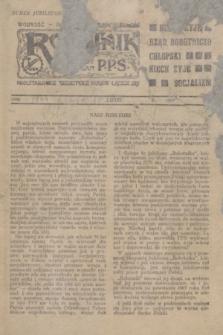 Robotnik : centralny organ P.P.S. Wolność - Równość - Niepodległość. R.51, numer jubileuszowy (lipiec 1944)