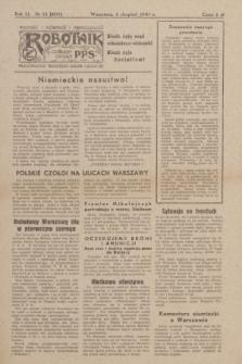 Robotnik : centralny organ PPS. R.51, nr 12 (5 sierpnia 1944) = nr 8071