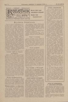 Robotnik : centralny organ P.P.S. R.51, nr 20 (13 sierpnia 1944) = nr 8079