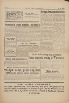 Robotnik : centralny organ P.P.S. R.51, nr 22 (15 sierpnia 1944) = nr 8081