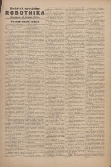 Robotnik : centralny organ PPS. R.51, dodatek specjalny robotnika (24 sierpnia 1944)