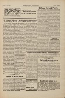 Robotnik : centralny organ PPS. R.51, nr 36 (29 sierpnia 1944) = nr 8095