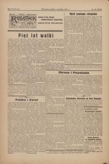 Robotnik : centralny organ PPS. R.51, nr 39 (1 września 1944) = nr 8098