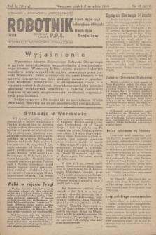 Robotnik : centralny organ PPS. R.51, nr 45 (8 września 1944) = nr 8014