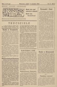 Robotnik : centralny organ PPS. R.51, nr 52 (15 września 1944) = nr 8021