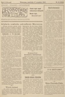 Robotnik : centralny organ PPS. R.51, nr 54 (17 września 1944) = nr 8023
