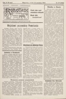 Robotnik : centralny organ P.P.S. R.51, nr 59 (22 września 1944) = nr 8028