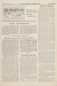 Robotnik : centralny organ PPS. R.51, nr 66 (29 września 1944) = nr 8035