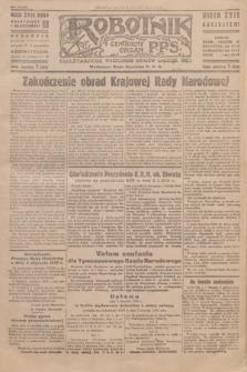 Robotnik : centralny organ P.P.S. R.51, nr 4 (5 stycznia 1945) = nr 43