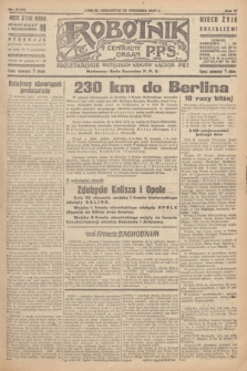 Robotnik : centralny organ P.P.S. R.51, nr 21 (25 stycznia 1945) = nr 61