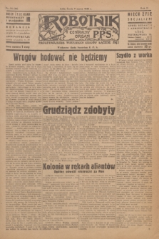 Robotnik : centralny organ P.P.S. R.51, nr 54 (7 marca 1945) = nr 84