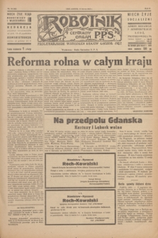Robotnik : centralny organ P.P.S. R.51, nr 58 (11 marca 1945) = nr 88