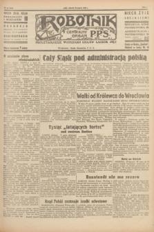 Robotnik : centralny organ P.P.S. R.51, nr 67 (20 marca 1945) = nr 97