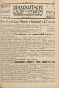 Robotnik : centralny organ P.P.S. R.51, nr 73 (26 marca 1945) = nr 103