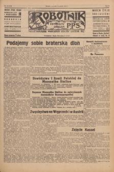 Robotnik : centralny organ P.P.S. R.51, nr 80 (5 kwietnia 1945) = nr 110