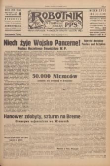 Robotnik : centralny organ P.P.S. R.51, nr 87 (12 kwietnia 1945) = nr 117