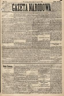 Gazeta Narodowa. 1883, nr15