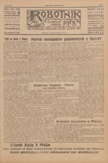 Robotnik : centralny organ P.P.S. R.51, nr 103 (27 kwietnia 1945) = nr 133