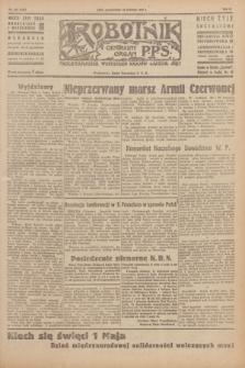 Robotnik : centralny organ P.P.S. R.51, nr 106 (30 kwietnia 1945) = nr 136