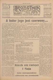 Robotnik : centralny organ P.P.S. R.51, nr 107 (1 maja 1945) = nr 137