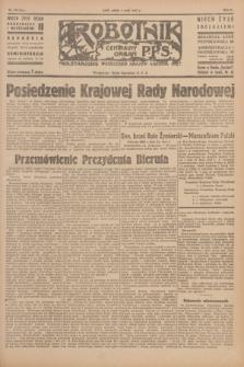 Robotnik : centralny organ P.P.S. R.51, nr 110 (5 maja 1945) = nr 140