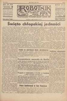 Robotnik : centralny organ P.P.S. R.51, nr 124 (19 maja 1945) = nr 154