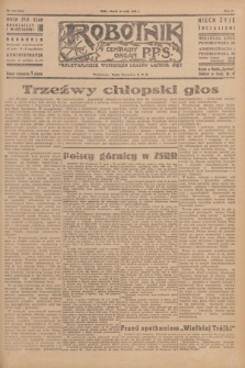 Robotnik : centralny organ P.P.S. R.51, nr 132 (29 maja 1945) = nr 162