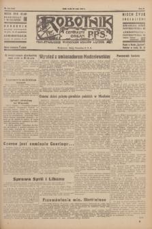 Robotnik : centralny organ P.P.S. R.51, nr 133 (30 maja 1945) = nr 163