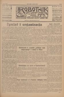 Robotnik : centralny organ P.P.S. R.51, nr 136 (2 czerwca 1945) = nr 166