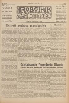 Robotnik : centralny organ P.P.S. R.51, nr 137 (3 czerwca 1945) = nr 167