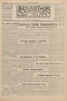Robotnik : centralny organ P.P.S. R.51, nr 153 (19 czerwca 1945) = nr 183
