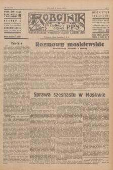 Robotnik : centralny organ P.P.S. R.51, nr 154 (20 czerwca 1945) = nr 184