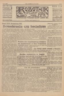 Robotnik : centralny organ P.P.S. R.51, nr 159 (25 czerwca 1945) = nr 189