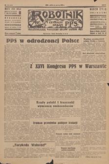 Robotnik : centralny organ P.P.S. R.51, nr 164 (30 czerwca 1945) = nr 194