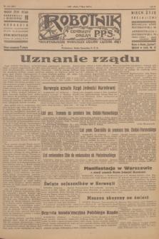 Robotnik : centralny organ P.P.S. R.51, nr 171 (7 lipca 1945) = nr 201