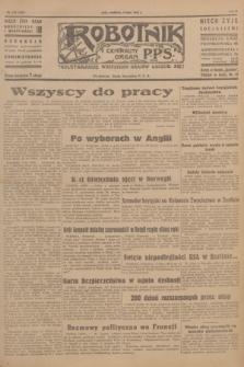 Robotnik : centralny organ P.P.S. R.51, nr 172 (8 lipca 1945) = nr 202