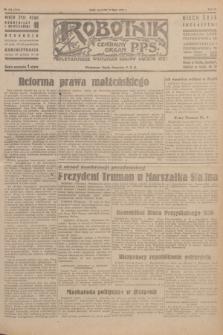 Robotnik : centralny organ P.P.S. R.51, nr 183 (19 lipca 1945) = nr 213