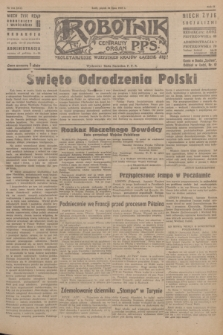 Robotnik : centralny organ P.P.S. R.51, nr 184 (20 lipca 1945) = nr 214