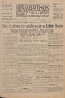 Robotnik : centralny organ P.P.S. R.51, nr 191 (27 lipca 1945) = nr 221