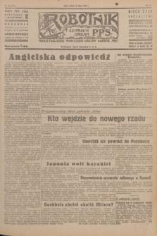 Robotnik : centralny organ P.P.S. R.51, nr 192 (28 lipca 1945) = nr 222